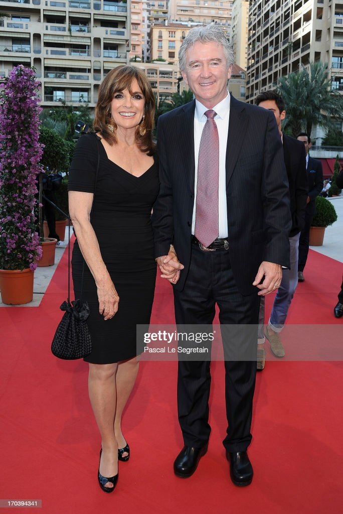 Patrick Duffy and Linda Gray attend the 'Dallas' photocall during the 53rd Monte-Carlo TV Festival on June 12, 2013 in Monte-Carlo, Monaco.