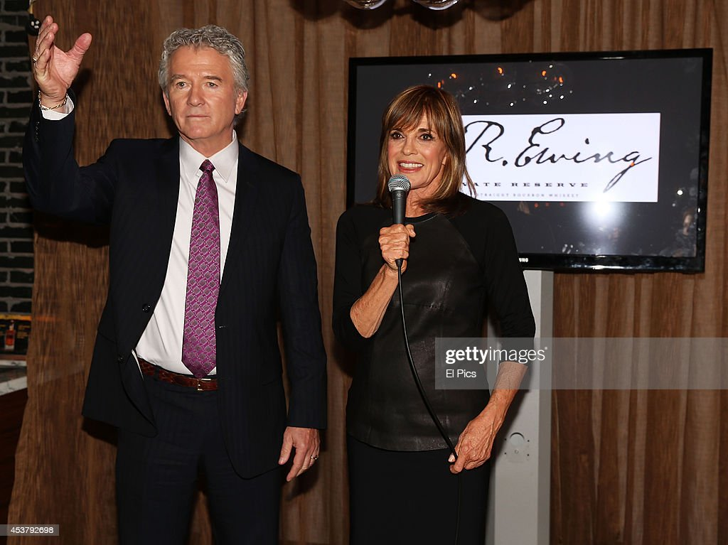 <a gi-track='captionPersonalityLinkClicked' href=/galleries/search?phrase=Patrick+Duffy+-+Actor&family=editorial&specificpeople=224536 ng-click='$event.stopPropagation()'>Patrick Duffy</a> and <a gi-track='captionPersonalityLinkClicked' href=/galleries/search?phrase=Linda+Gray&family=editorial&specificpeople=159564 ng-click='$event.stopPropagation()'>Linda Gray</a> attends the J.R. Ewing Bourbon's Launch Party on August 18, 2014 in Sydney, Australia.