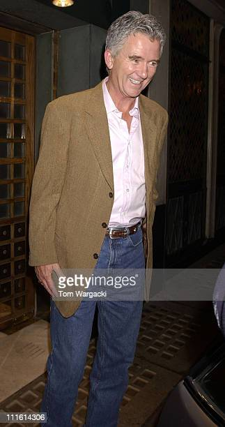 Patrick Duffy during Patrick Duffy Sighting at The Ivy Restaurant in London October 6 2006 at Ivy Restaurant in London Great Britain