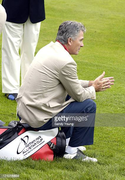 Patrick Duffy during The Northern Rock All Star Cup Press Conference at Celtic Manor Resort in Newport Great Britain