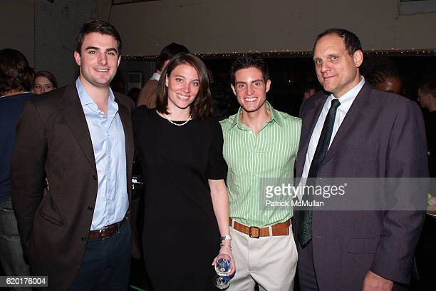 Patrick Dunn Dierdre Dunn Michael Apuzzo and John Tomlinson attend PAUL TAYLOR DANCE Hosts Cocktails for YOUNG PATRONS at 552 Broadway on November 11...