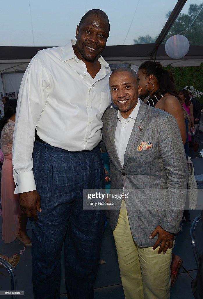 Patrick Ewing (L) and Record Executive Kevin Liles attend the 2013 Peace, Love & A Cure Triple Negative Breast Cancer Foundation Benefit on May 21, 2013 in Cresskill, New Jersey.