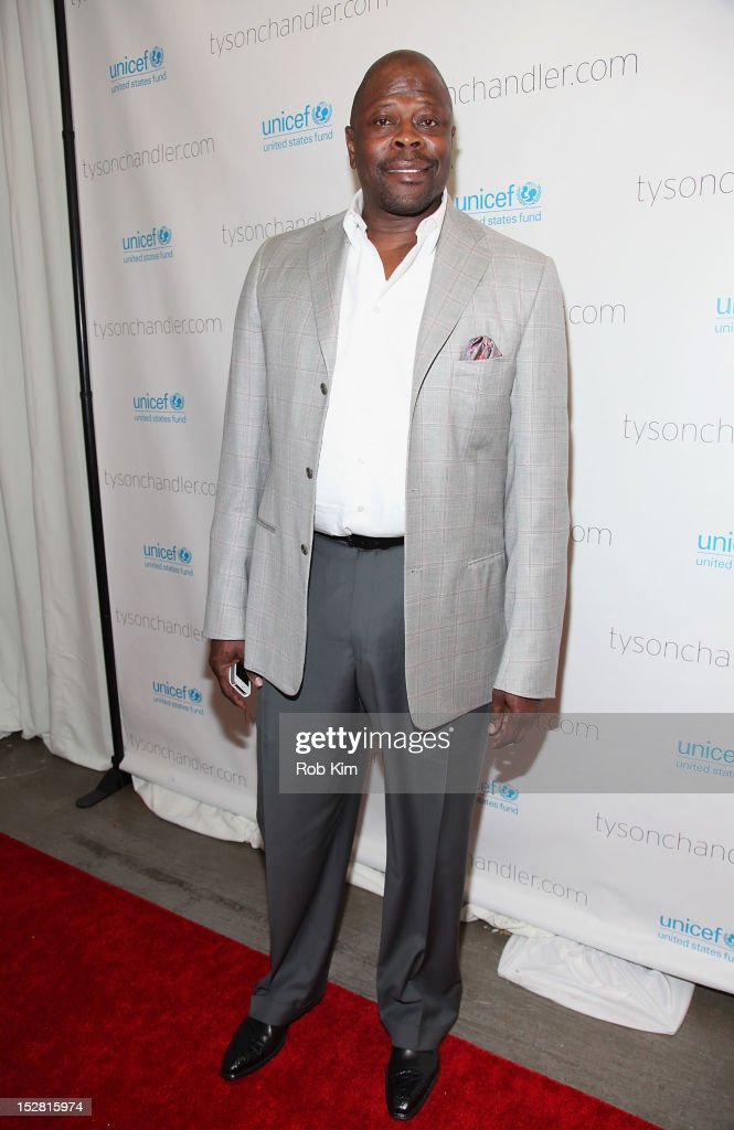 Patrick Ewing attends the 'A Year In A New York Minute' photo exhibition opening at Canoe Studios on September 26, 2012 in New York City.
