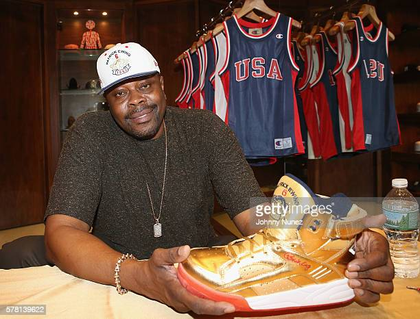 Patrick Ewing attends the Eclipse Pop Up Shop With Patrick Ewing Fabolous at Alife on July 20 2016 in New York City