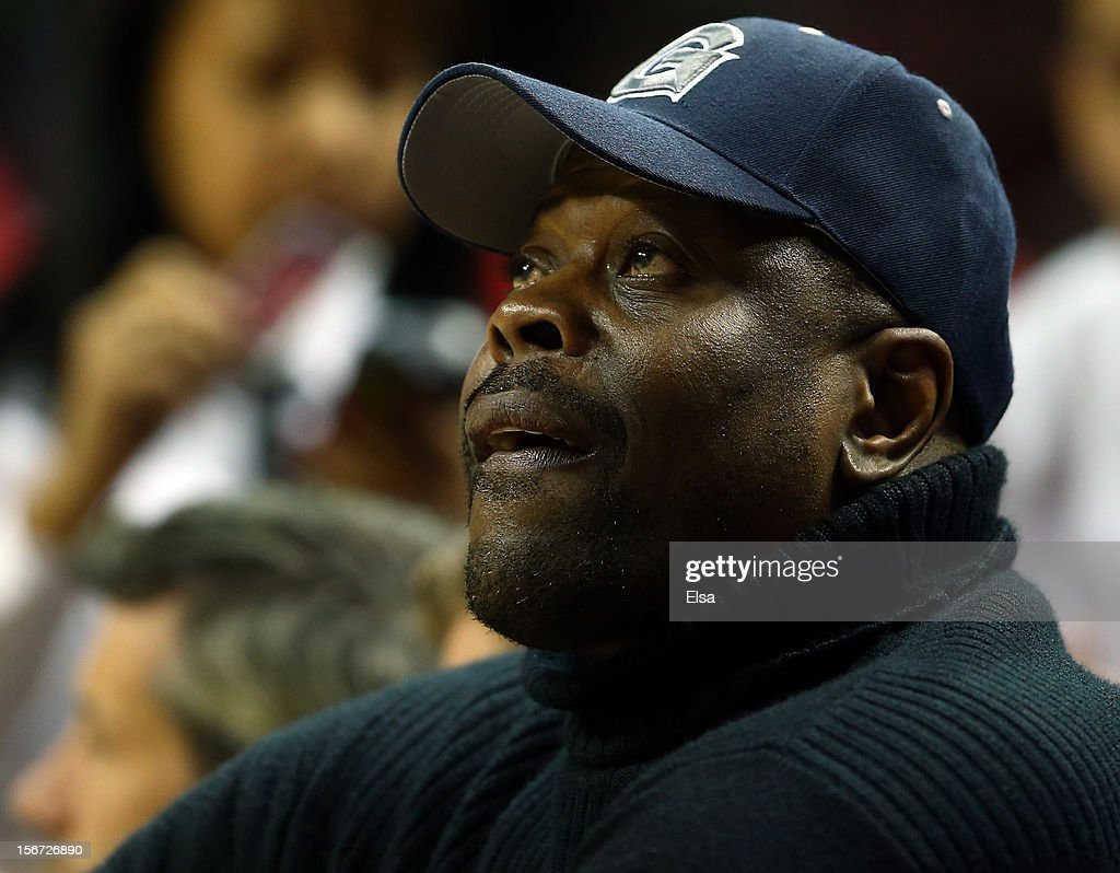 Patrick Ewing attends the Georgetown Hoyas v UCLA Bruins game during the Legends Classic on November 19, 2012 at the Barclays Center in the Brooklyn borough of New York City.