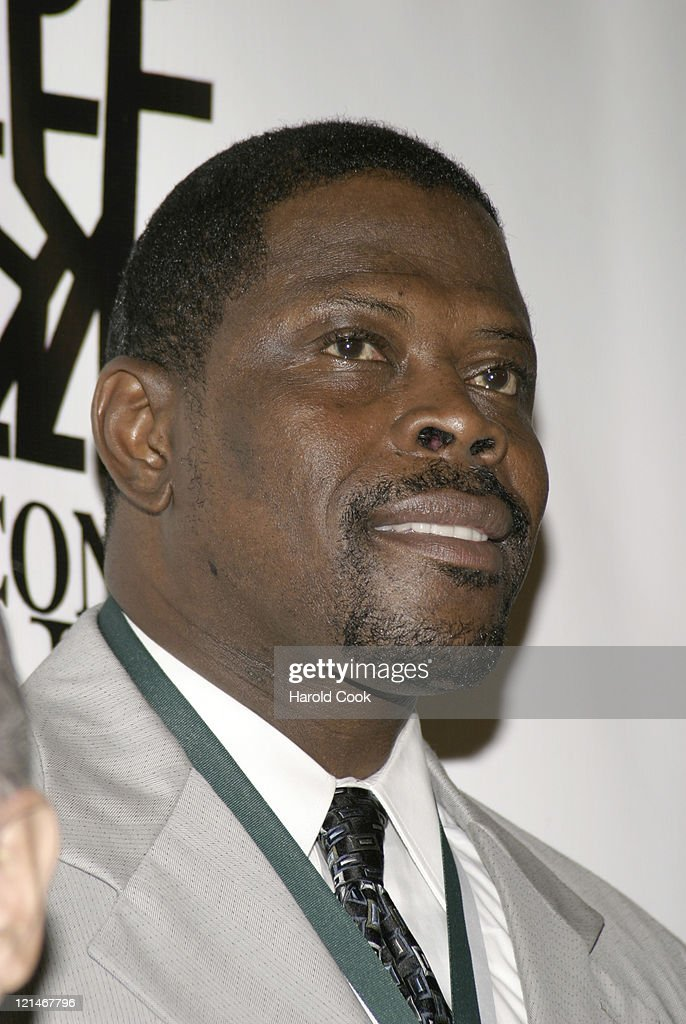 <a gi-track='captionPersonalityLinkClicked' href=/galleries/search?phrase=Patrick+Ewing&family=editorial&specificpeople=202881 ng-click='$event.stopPropagation()'>Patrick Ewing</a> during 21st Annual Great Sports Legends Dinner at The Waldorf Astoria in New York City, New York, United States.