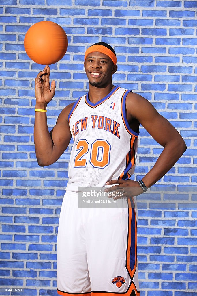 Patrick Ewing, Jr. #20 of the New York Knicks poses for a photo during Media Day on September 24, 2010 at the New York Knicks Practice Facility in Tarrytown, New York.