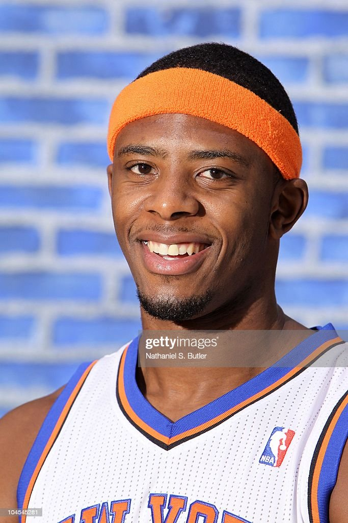 Patrick Ewing Jr. #20 of the New York Knicks poses for a photo during Media Day on September 24, 2010 at the New York Knicks Practice Facility in Tarrytown, New York.