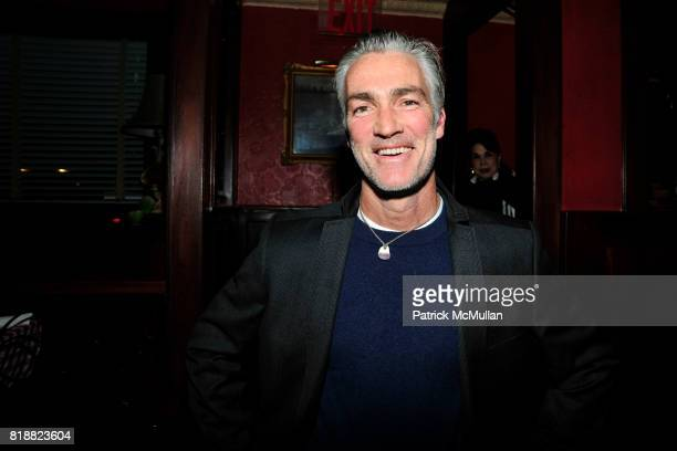 Patrick Fahey attends JEFF STEIN'S Birthday Dinner at East Side Social Club on April 1 2010 in New York City