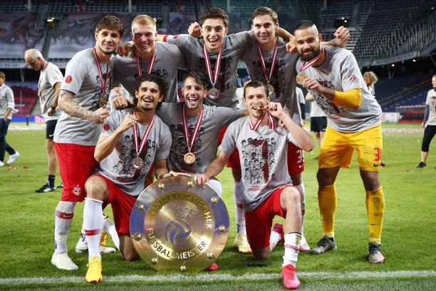 AUT: FC Red Bull Salzburg v SK Puntigamer Sturm Graz - tipico Bundesliga