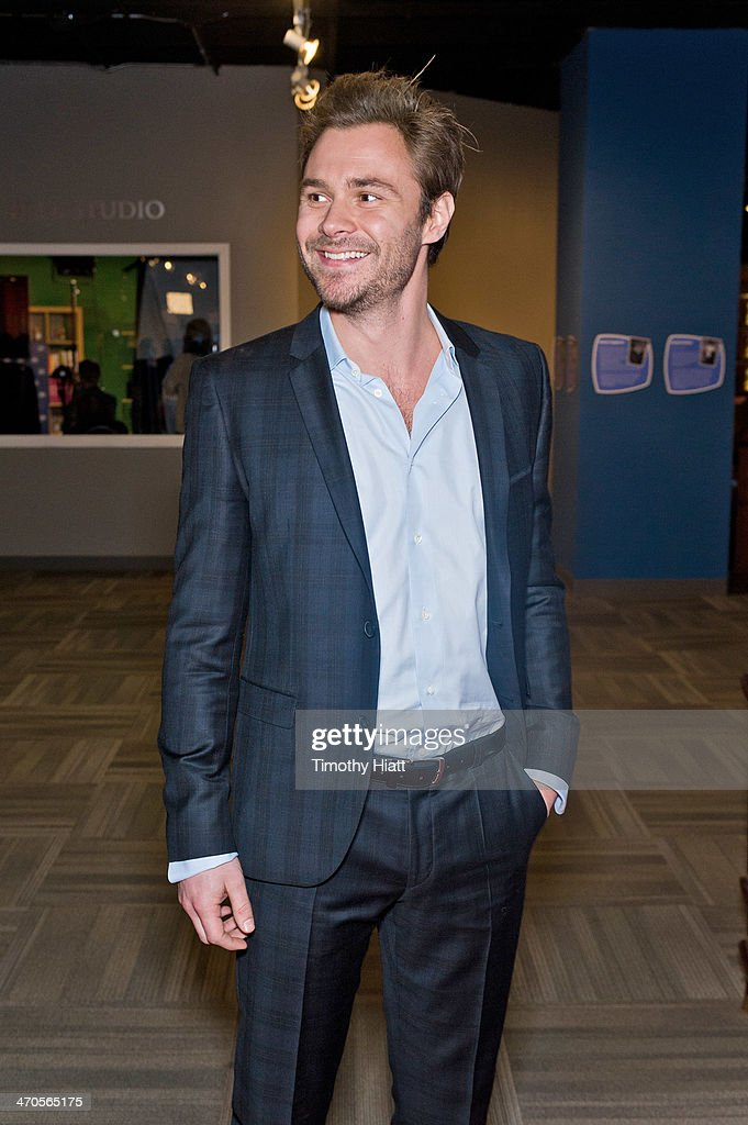 <a gi-track='captionPersonalityLinkClicked' href=/galleries/search?phrase=Patrick+Flueger&family=editorial&specificpeople=2163175 ng-click='$event.stopPropagation()'>Patrick Flueger</a> appears in advance of a panel discussion at the Museum of Broadcast Communications in Chicago, IL on February 19, 2014