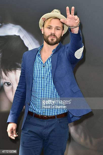 Patrick Flueger attends a photocall for the 'Chicago PD' TV series on June 15 2015 in MonteCarlo Monaco