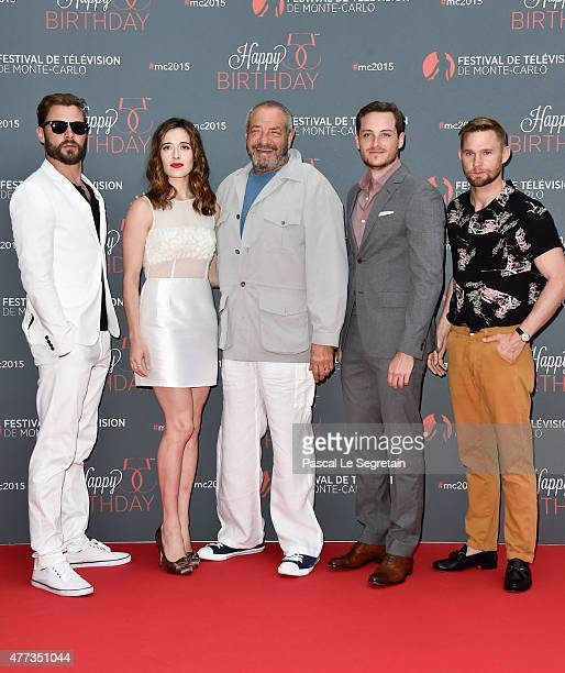 Patrick Flueger Marina Squercati Dick Wolf Jesse Lee Soffer and Brian Geraghty attend the 55th Monte Carlo Beach anniversary as part of Monte Carlo...