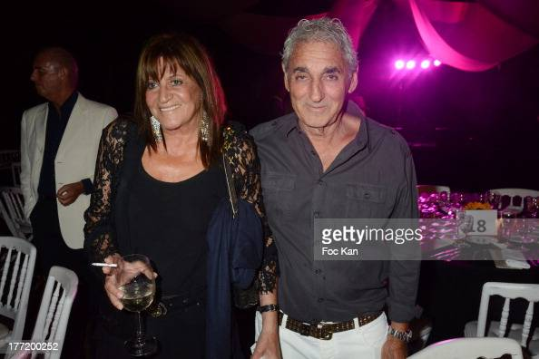 Patrick Freche and Mrs Freche attend the Massimo Gargia's Birthday Dinner at Moulins de Ramatuelle on August 21 2013 in Saint Tropez France