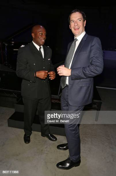 Patrick Goulborne and George Osborne attend The London Evening Standard's Progress 1000 London's Most Influential People in partnership with Citi on...