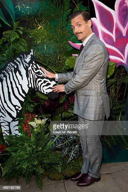 Patrick Grant arrives at Roger Vivier Summer Party at Loulou's on May 22 2014 in London England