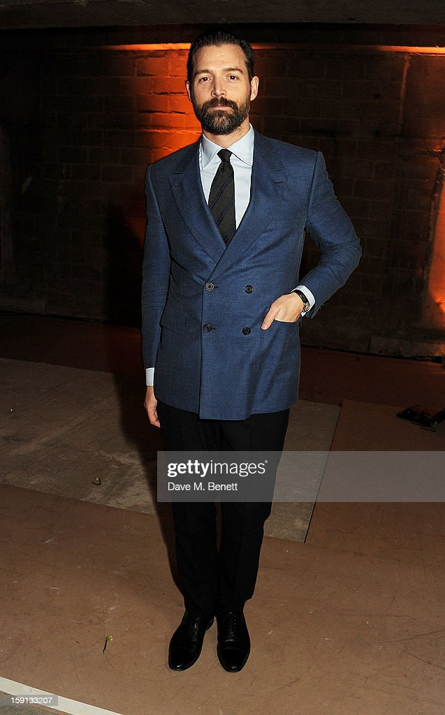 Patrick Grant attends the Jonathan Saunders, Fantastic Man and Selfridges London Collections: MEN AW13 dinner at The Old Selfridges Hotel on January 8, 2013 in London, England.