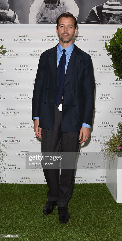 Patrick Grant attends the Sandown Park Racecourse Ladies' Day STYLE AWARD Hosted by Rosie Fortescue at Sandown Park on July 1, 2016 in Esher, England.