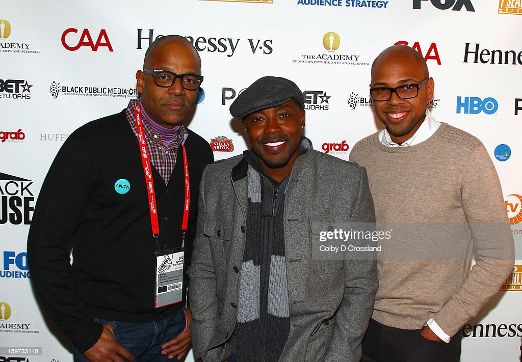 Patrick Harrison, Will Packer and Brickson Diamond attend The Academy and Blackhouse Partner on Talk with Filmmaker Will Packer At Sundance at Buona Vita during the 2013 Sundance Film Festival on January 19, 2013 in Park City, Utah.
