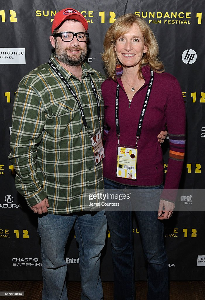 Patrick Hubley and Sarah Pearce attend the Alfred P. Sloan Foundation Reception & Prize Announcement during the 2012 Sundance Film Festival on January 27, 2012 in Park City, Utah.