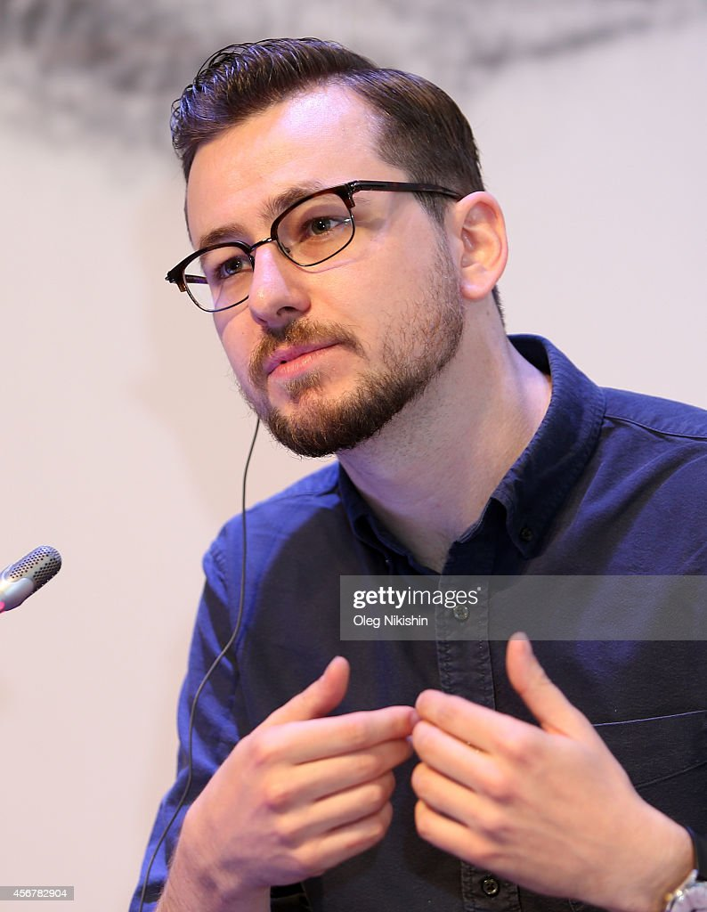 Patrick Hurley attends 'Battle For VOD Market And Alternative Distribution Means' during the Saint Petersburg International Media Forum at the Old...
