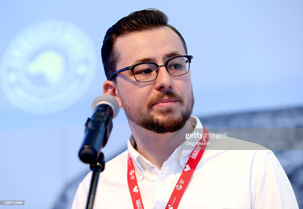 Patrick Hurley attends the Popup Cinema NonTheatrical Distribution By Dogwoof Talk during the Saint Petersburg International Media Forum at the Old...