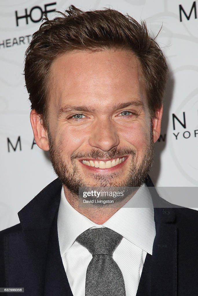 Patrick J. Adams arrives at the Entertainment Weekly celebration honoring nominees for The Screen Actors Guild Awards at the Chateau Marmont on January 28, 2017 in Los Angeles, California.