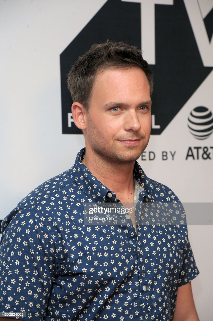 Patrick J Adams attends 'Pillow Talk' premiere during Tribeca TV Festival at Cinepolis Chelsea on September 23, 2017 in New York City