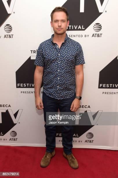 Patrick J Adams attends the Tribeca TV Festival screening of Pillow Talk at Cinepolis Chelsea on September 23 2017 in New York City