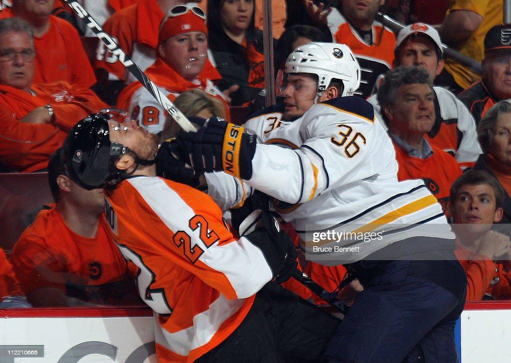 Buffalo Sabres v Philadelphia Flyers - Game One