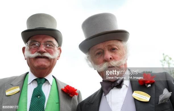 Patrick Keogh and Dennis Nuttledge at Ascot Racecourse Berkshire