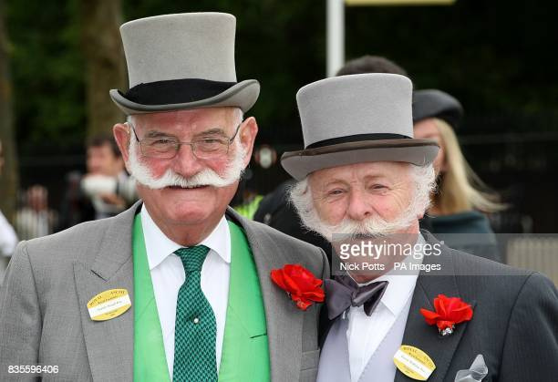 Patrick Keogh and Dennis Ruttledge at Ascot Racecourse Berkshire