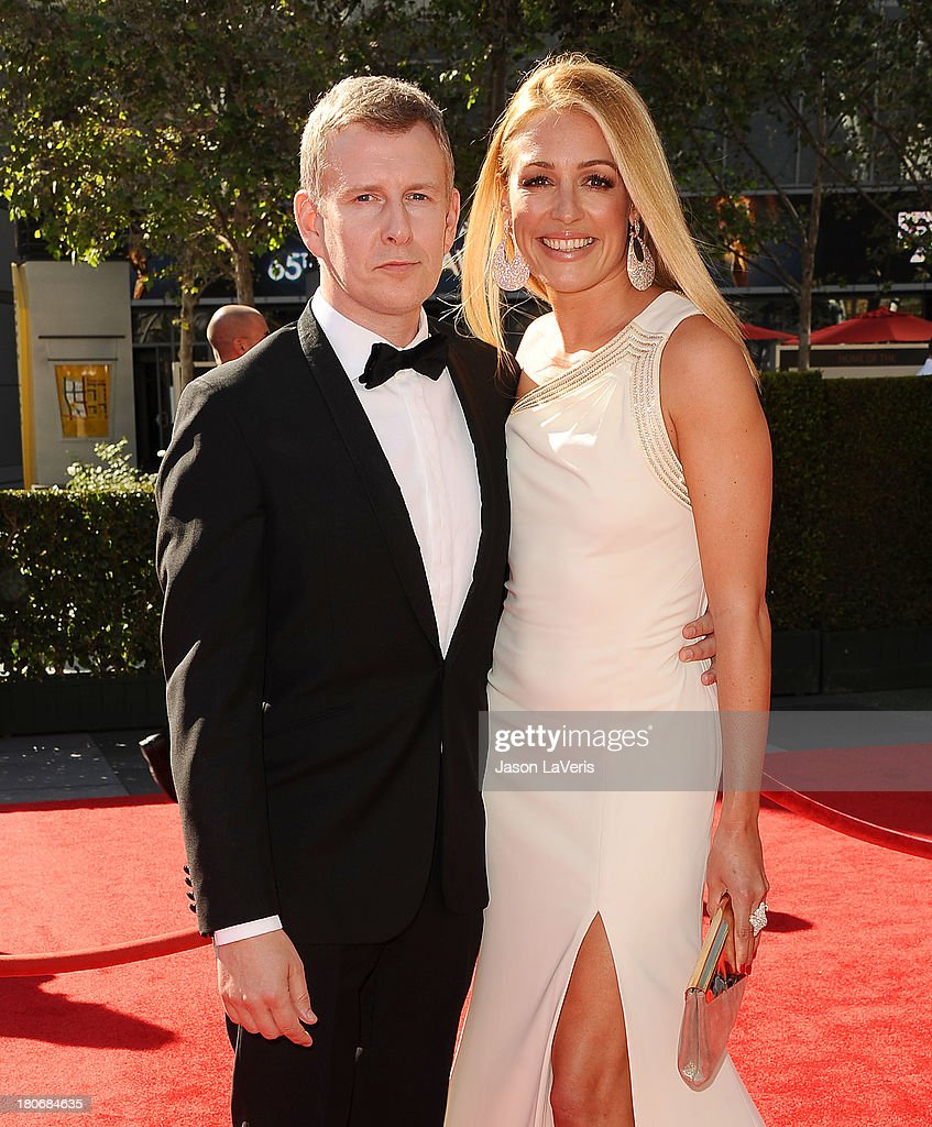 <a gi-track='captionPersonalityLinkClicked' href=/galleries/search?phrase=Patrick+Kielty&family=editorial&specificpeople=214270 ng-click='$event.stopPropagation()'>Patrick Kielty</a> and <a gi-track='captionPersonalityLinkClicked' href=/galleries/search?phrase=Cat+Deeley&family=editorial&specificpeople=202554 ng-click='$event.stopPropagation()'>Cat Deeley</a> attend the 2013 Creative Arts Emmy Awards at Nokia Theatre L.A. Live on September 15, 2013 in Los Angeles, California.