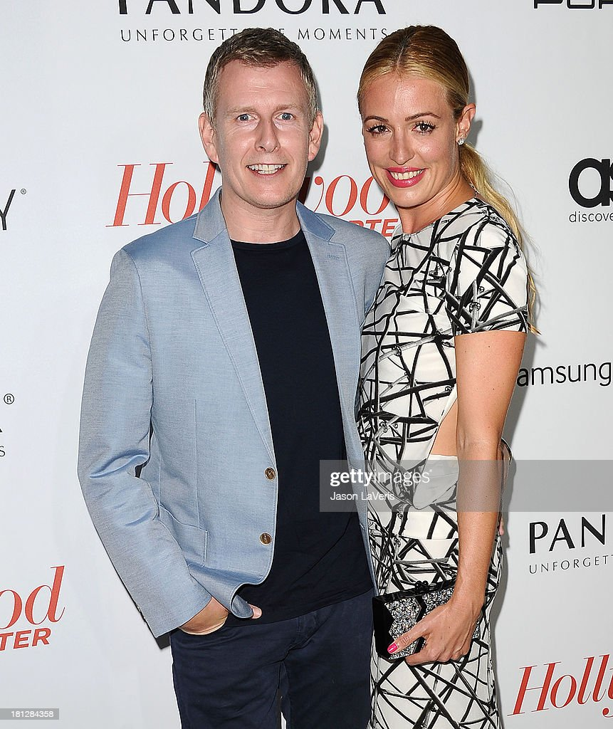 <a gi-track='captionPersonalityLinkClicked' href=/galleries/search?phrase=Patrick+Kielty&family=editorial&specificpeople=214270 ng-click='$event.stopPropagation()'>Patrick Kielty</a> and <a gi-track='captionPersonalityLinkClicked' href=/galleries/search?phrase=Cat+Deeley&family=editorial&specificpeople=202554 ng-click='$event.stopPropagation()'>Cat Deeley</a> attend the Hollywood Reporter's celebration of the Emmys at Soho House on September 19, 2013 in West Hollywood, California.