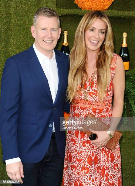 Patrick Kielty and Cat Deeley attends the 8th annual Veuve Clicquot Polo Classic at Will Rogers State Historic Park on October 14 2017 in Pacific...