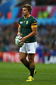 Patrick Lambie of South Africa during the 2015 Rugby World Cup Pool B match between South Africa and Samoa at Villa Park on September 26 2015 in...