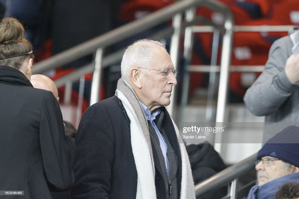 Patrick Le Lay attends before the French League 1 between Paris Saint-Germain FC and Marseille Olympic OM, at Parc des Princes on February 24, 2013 in Paris, France.
