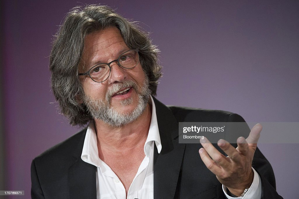 Patrick Leonard songwriter and music producer speaks during the Bloomberg Next Big Thing Summit in Half Moon Bay California US on Monday June 17 2013...