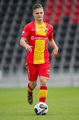 Patrick Maneschijn during the team presentation of Go Ahead Eagles on July 15 2016 at the Adelaarshorst Stadium in Deventer The Netherlands