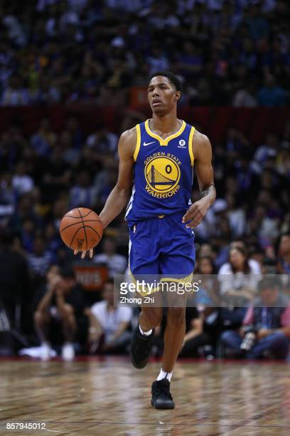 Patrick McCaw of the Golden State Warriors in action during the game between the Minnesota Timberwolves and the Golden State Warriors as part of 2017...