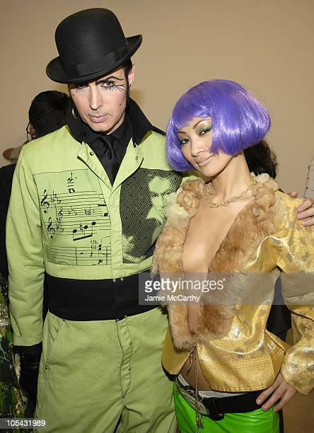 Patrick McDonald and Bai Ling during Bacardi Big Apple Goes High Style at Time Warner Center in New York City New York United States