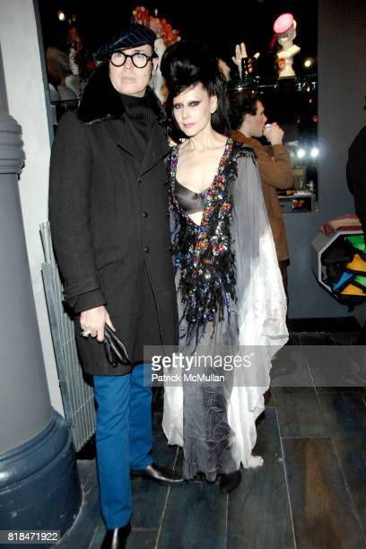 Patrick McDonald and Susanne Bartch attend SUSANNE BARTCH and DAVID BARTON host the Launch of REEM at David Barton Gym on January 22 2010 in New York...
