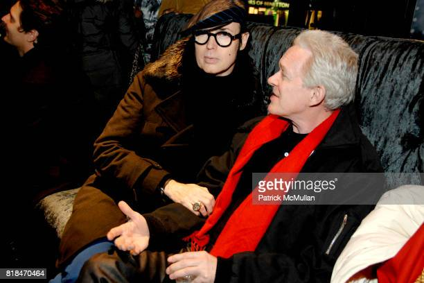 Patrick McDonald and Terry Doctor attend SUSANNE BARTCH and DAVID BARTON host the Launch of REEM at David Barton Gym on January 22 2010 in New York...