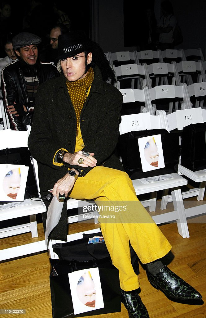 Olympus Fashion Week Fall 2006 - Jeremy Scott - Front Row and Backstage