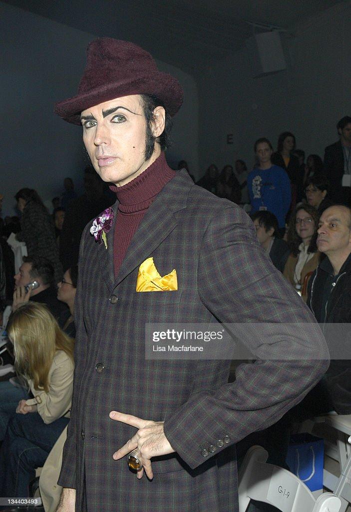 Olympus Fashion Week Fall 2006 - John Bartlett - Front Row