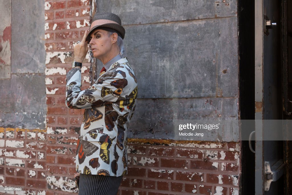 Patrick McDonald on Day 1 of New York Fashion Week Spring/Summer 2015 in New York City.