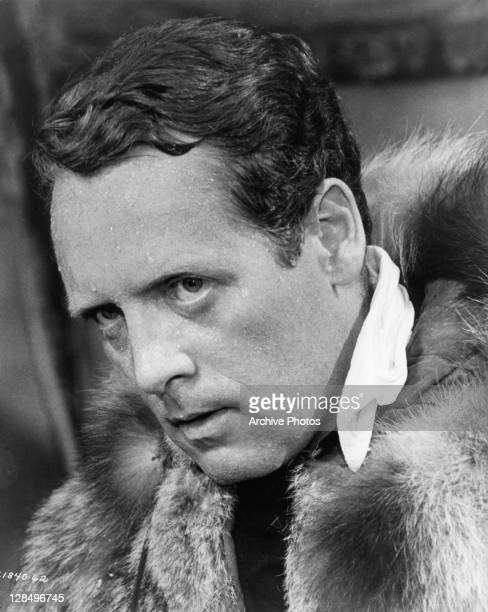 Patrick McGoohan plays a British secret agent on a mission to the North Pole in a scene from the film 'Ice Station Zebra' 1968