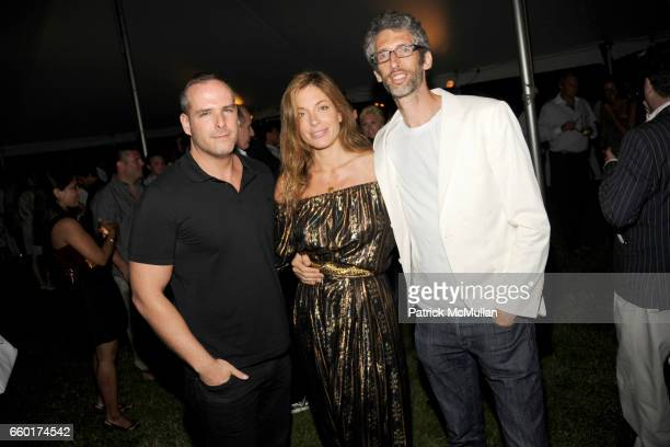 Patrick McGregor Kate Krone and DJ Stretch Armstrong attend ACRIA's Annual 'Cocktails at Sunset' Presented by Calvin Klein Collection Vanity Fair at...