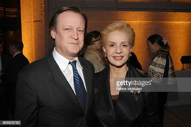 Patrick McMullan and Carolina Herrera attend VANITY FAIR Tribeca Film Festival Party hosted by Graydon Carter and Robert DeNiro at The State Supreme...