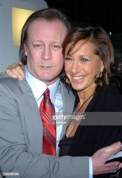 Patrick McMullan and Donna Karan during 'Kiss Kiss' Book Launch with Donna Karan at DKNY Madison Avenue Store in New York City New York United States